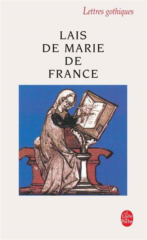 225305271x lais de marie de france livre lais de marie de france marie de france le livre