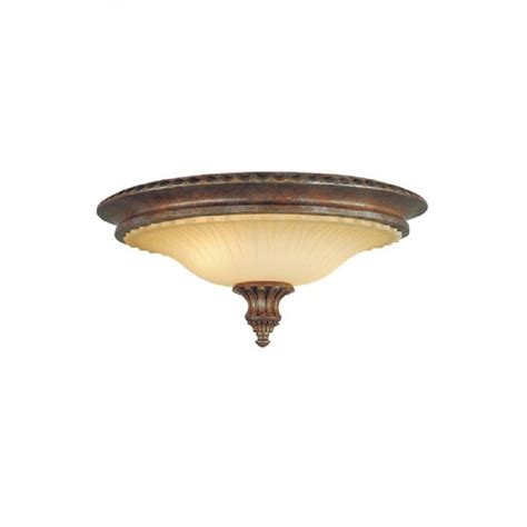 Circular Flush Low Ceiling Light In Traditional Bronze And Traditional Ceiling Lights