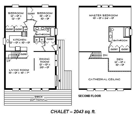 design basics small home plans chalet 2043