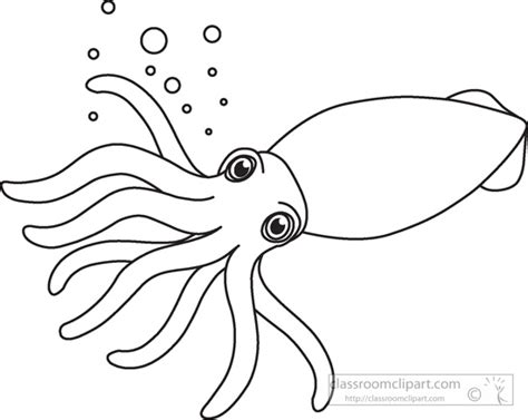 Free House Designs squid clip art images illustrations photos