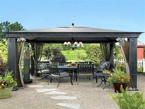 Patio Roofs Outdoor Gazebo Patio Ideas Large Patio Gazebo Ideas For Patios