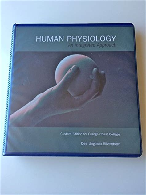human physiology an integrated approach 6th edition human physiology an integrated approach 9781256821717