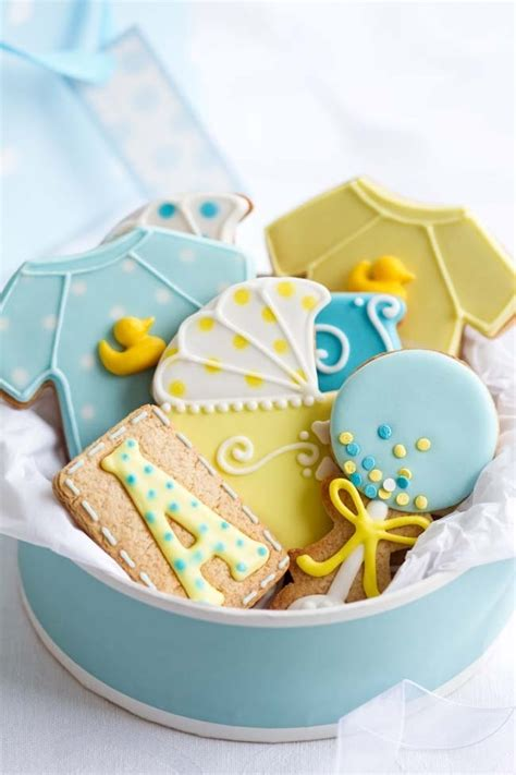 Cookie Baby Shower Decorations by Boy Baby Shower Cookie Ideas Spaceships And Laser