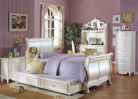 white twin trundle bedroom set alexandria white twin size sleigh bed and trundle set