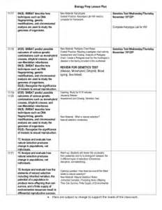 6 Week Lesson Plan Template by 4th Six Weeks Lesson Plans Template