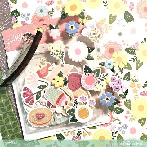 Floral Barrette diy floral barrette pebbles inc