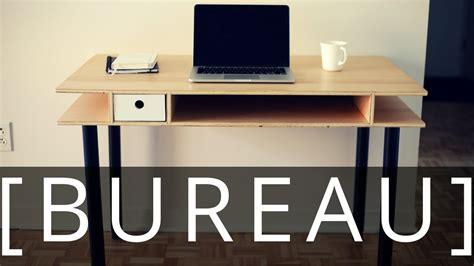 Fabriquer Un Bureau by Comment Fabriquer Un Bureau Ep42
