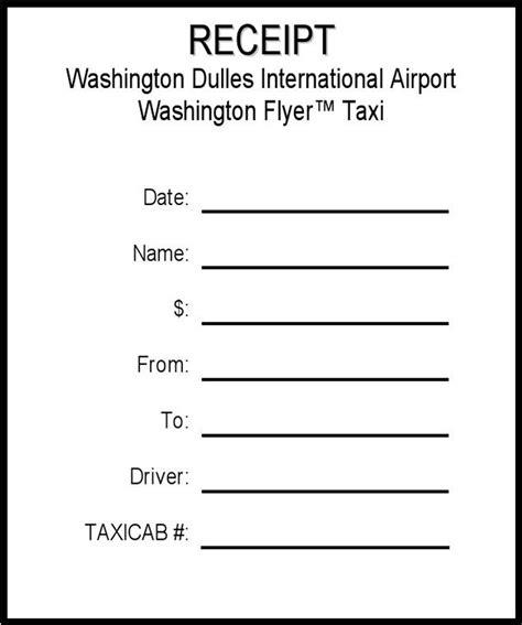 san francisco taxi receipt template taxi receipt free premium templates forms