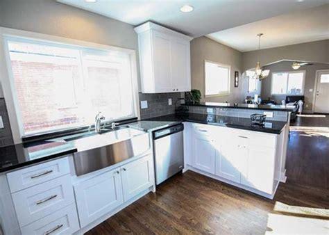 white shaker kitchen cabinets custom denver cabinetry international cabinets countertops