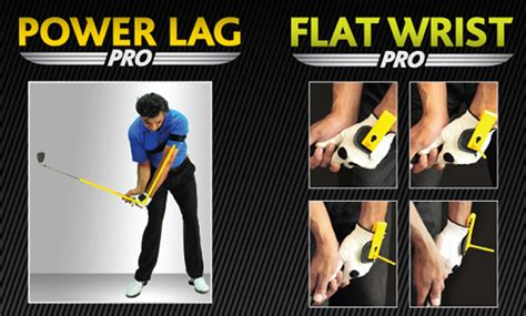 Power Lag And Flat Wrist Combo Golf Trainer Golf Training