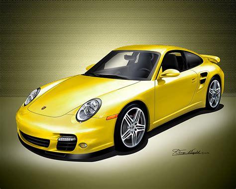 Porsche 911 Turbo Gelb by Yellow Porsche 911 Turbo Favorite Cars