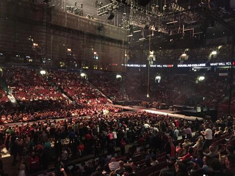 rogers arena section 105 rogers arena section 107 concert seating rateyourseats com