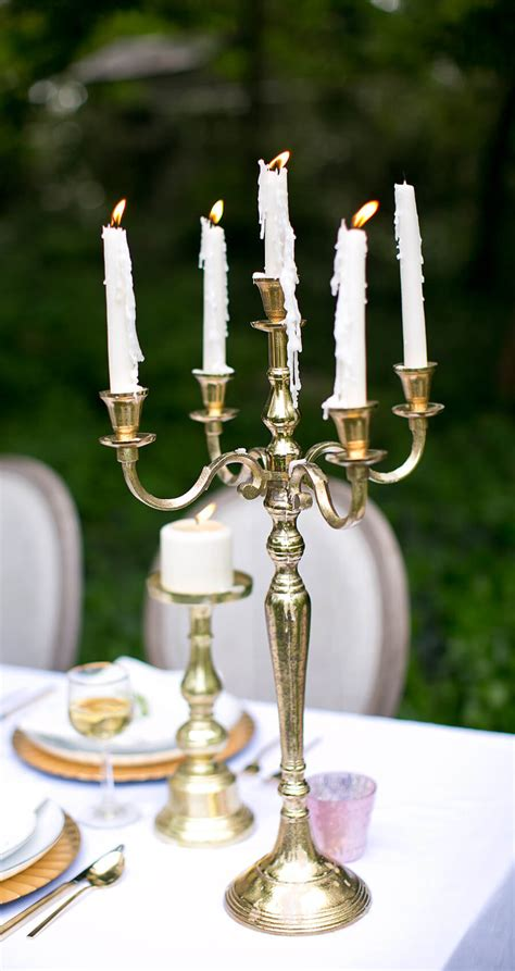 gold candelabra gold moretti candelabra 25in