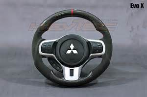 Steering Wheel For Evo X Carbon Fiber Alcantara Steering Wheel Mitsubishi Lancer