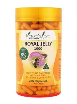 Natures Care Royal Propolis 1000 Isi 30 Kapsul nature s care royal jelly 1000mg 6 10 hda health supplement australian made buy royal jelly