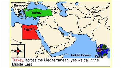 middle east map for students the middle east geography song