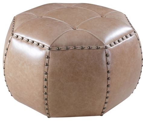 small ottomans footstools hooker furniture la pedrera sottobosco small octogonal