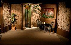 designing sets for oprah ellen tyra and now ricki the ellen degeneres used stump logs for her table