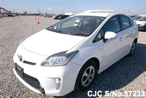 Toyota Prius Hybrid For Sale 2014 Toyota Prius Hybrid White For Sale Stock No 57233