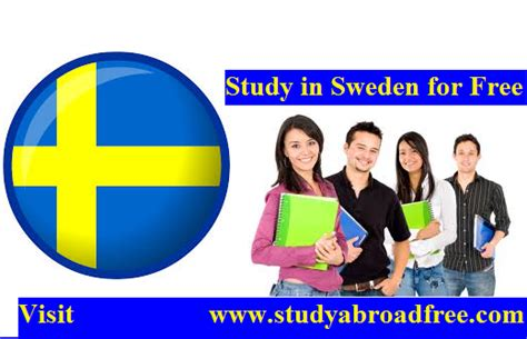 Mba In Without Ielts by Study In Sweden For Free 2018 Study In Sweden Without
