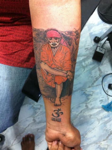 bangalore studio chest tatto images sai baba name designs religious images