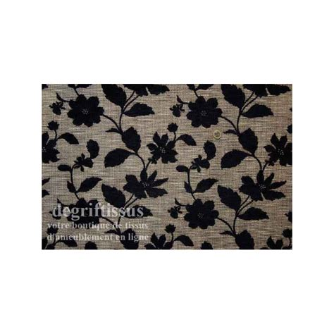 Tissu Tapisserie by Tissu D Ameublement Tapisserie Tissu Fleurs Noires