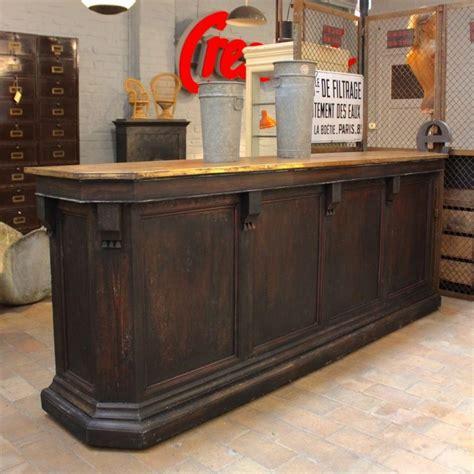 mobilier industriel ancien comptoir de caf 233