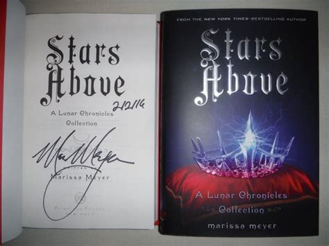 libro stars above a lunar stars above a lunar chronicles collection signed book by maris mike s collectable books