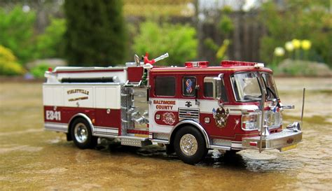 code  diecast fire truck collection american lafrance