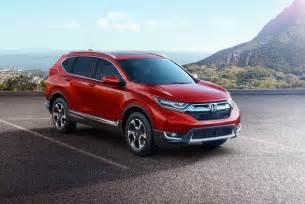 Honda Crv 2017 Honda Cr V Revealed In Us Spec Brings 1 5t