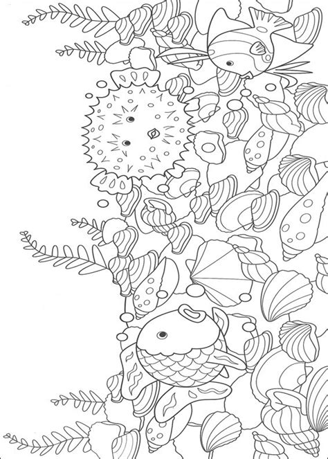 Coloring Pages Underwater underwater world coloring pages for