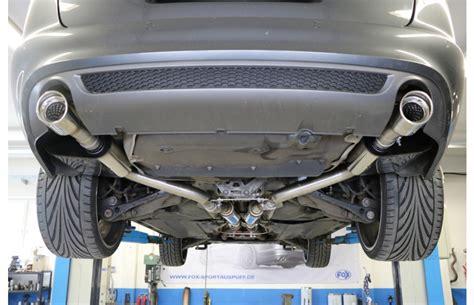 Sportauspuff Audi A6 by Fox Duplex Sportauspuff Audi A6 C6 4f Quattro Tdi 2 7l