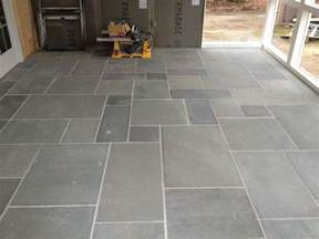 Design For Outdoor Slate Tile Ideas Simple And Versatile Ideas For The Top Of The Front Porch Easy To Add Mosaic Steps Matching The