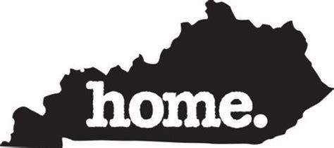 home kentucky state design vinyl car sticker symbol