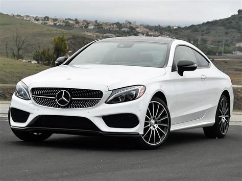 mercedes white report 2017 mercedes c class coupe luxury
