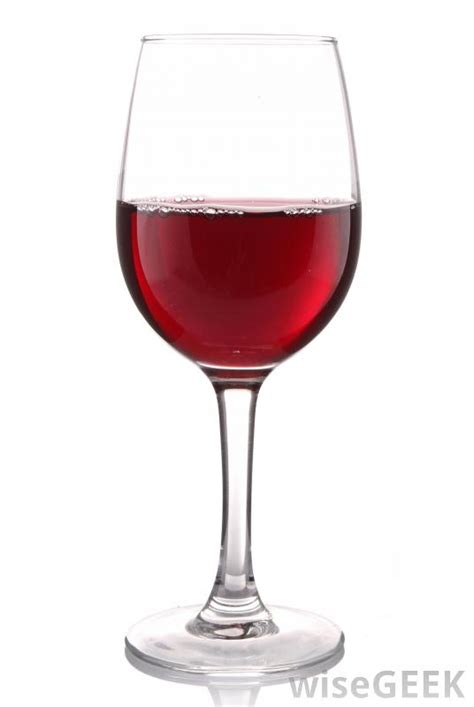 glass of wine what are the different types of wine glasses with pictures
