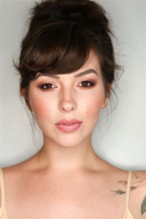 too faced sweet peach collection makeup look keiko lynn