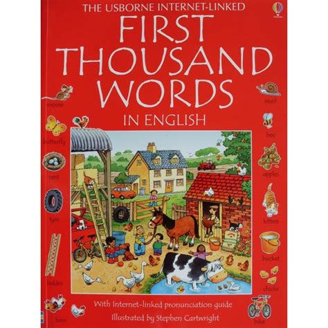 libro the first thousand words usborne first thousand words in english babyonline