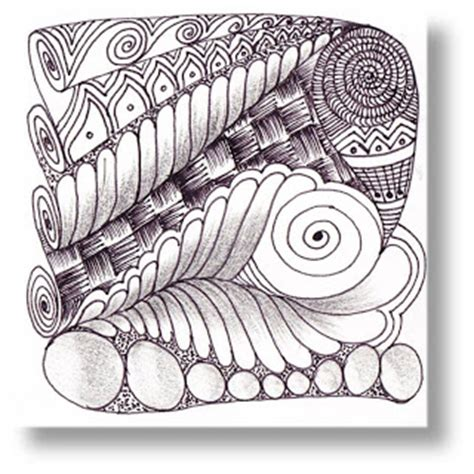 journey through zentangle art zentangle tiles