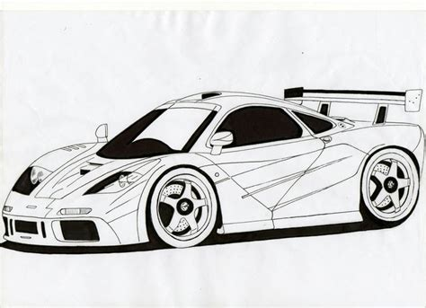 mclaren f1 drawing drawings 6 months and drawings on
