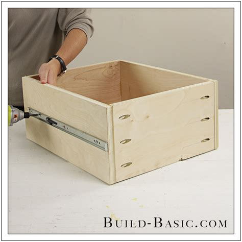 How To Make A Drawer Box Out Of Paper - the build basic closet system built in closet drawers