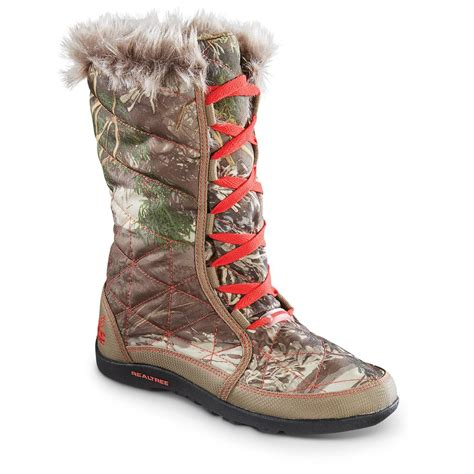 realtree ci ci high top winter boots 652559 winter