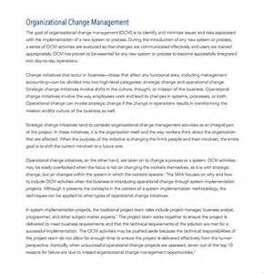 Management Plan Templates Free by Sle Change Management Plan Template 9 Free Documents