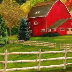 barn prints the barn painting