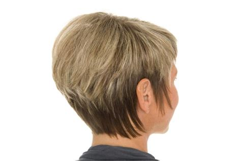 back view of short haircuts older women short hairstyles for older women