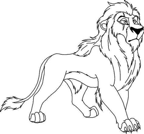 how to colour in a scar in your hairline lion king scar coloring pages