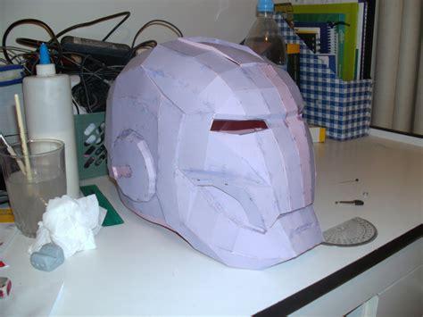 Ironman Helmet Papercraft - iron helmet pepakura by cyber on deviantart