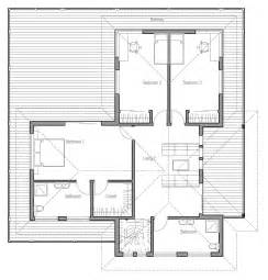 house plans with balcony modern house plan with large balcony house plan
