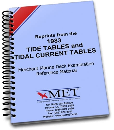 the merchant marine manual classic reprint books 1983 reprint tide tables and tide current tables