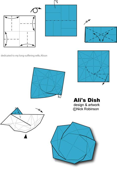 Origami For Dummies - ali s dish by nick robinson